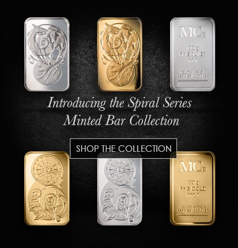 Shop the Spiral Series Minted Bar Collection Promotional Banner