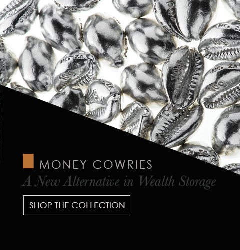 Shop the Money Cowries Collection Promotional Banner