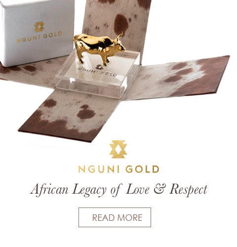 Nguni Gold African Legacy of Love and Respect Promotional Banner