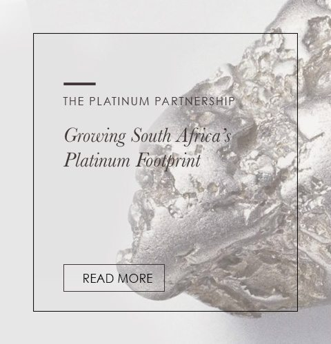 Read more about the platinum partnership and growing South Africa's platinum footprint