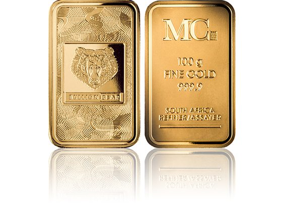 MetCon Bullion Bear Minted Bar Image